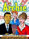 Archie Obama and Palin in Riverdale TPB