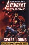 Avengers Red Zone Hardcover