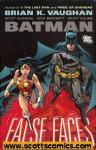 Batman False Faces Hardcover