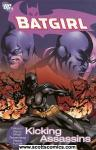 Batgirl Kicking Assassins TPB