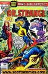 Doctor Strange (1974 2nd series) Annual