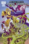 Transformers GI Joe 2014 FCBD  (2014 one shot)