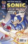 Sonic The Hedgehog Mega Man Worlds Unite 2015 FCBD  (2015 one shot)