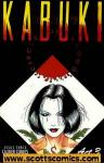 Kabuki Circle of Blood (1995 mini series Caliber) (Mature Readers)