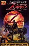 Lone Ranger Zorro The Death of Zorro (2011 mini series)