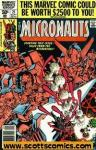 Micronauts (1979-1984 1st series Marvel)