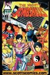 Mighty Bombshells (1993 mini series Antarctic Press)