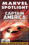 Marvel Spotlight Captain America Remembered (2007 one shot)