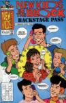 New Kids on the Block Back Stage Pass (1990 - 1991)