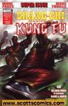 Shang Chi Master of Kung Fu Black and White (2009 one shot)