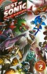 Sonic The Hedgehog Best of Sonic Comics Hardcover