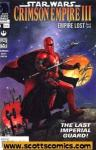 Star Wars Crimson Empire III Empire Lost (2011 mini series)