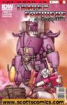 Transformers Heart of Darkness (2011 mini series)