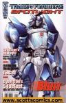 Transformers Spotlight Blurr (2008 one shot)