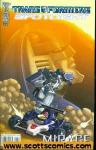 Transformers Spotlight Mirage (2008 one shot)