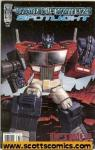Transformers Spotlight Optimus Prime  (2007 one shot)