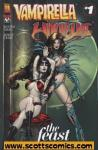 Vampirella Witchblade The Feast (2005 one shot) (Image)