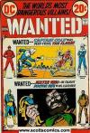 Wanted The Worlds Most Dangerous Super-Villains (1972 - 1973)